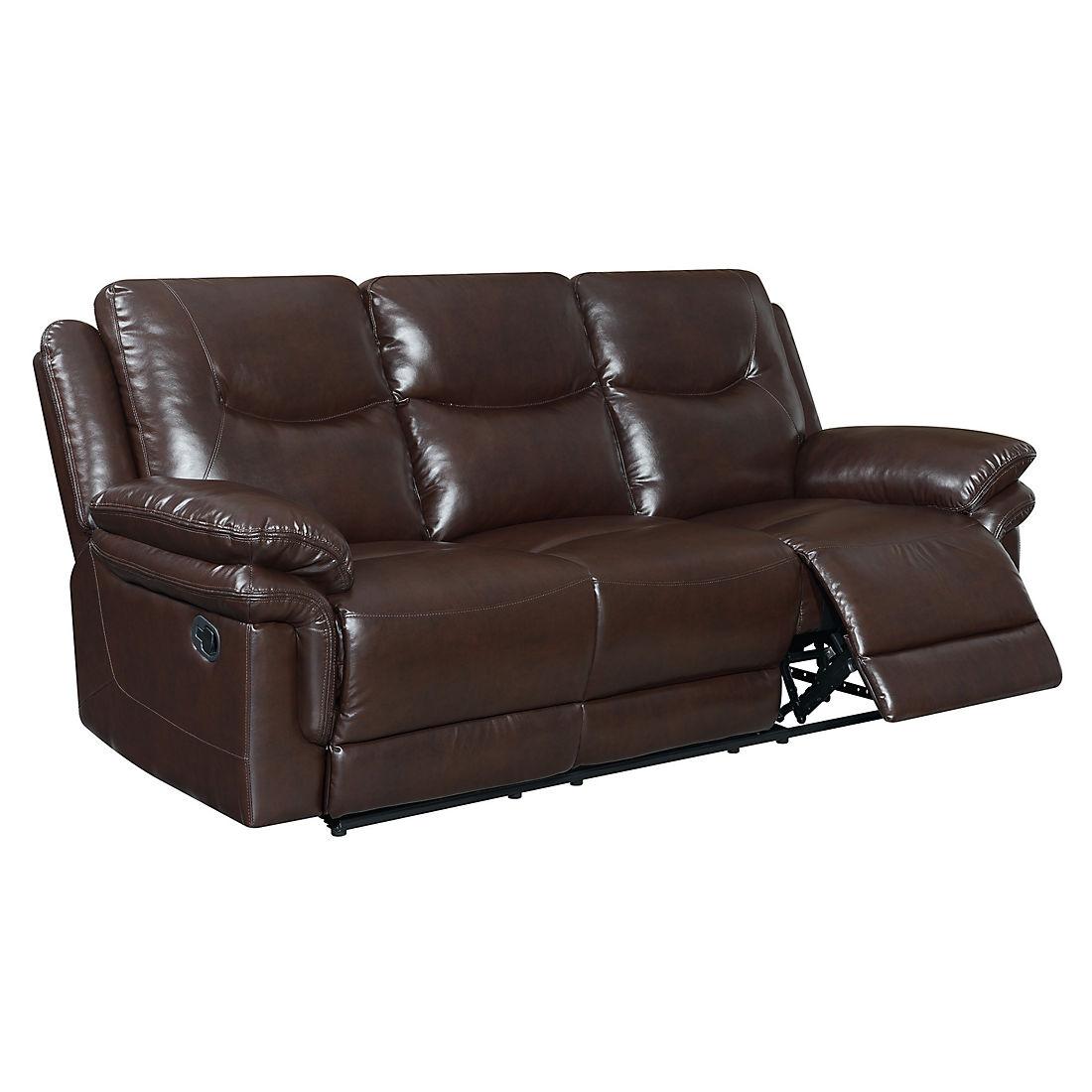 Windsor Reclining Sofa - Brown