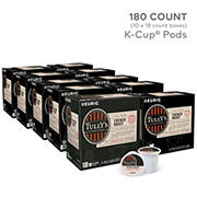 Tully's Coffee French Roast Dark Roast Coffee Keurig Single-Serve K-Cup Pods, 10 pk./18 ct.