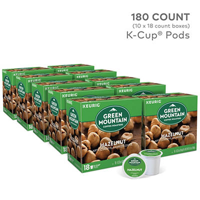 Green Mountain Coffee Roasters Hazelnut Flavored Coffee Keurig Single-Serve K-Cup Pods 10 pk./18 ct.