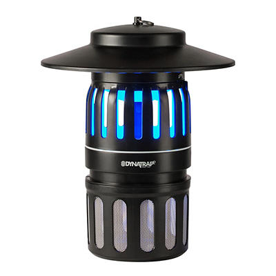 DynaTrap Insect Trap with 2 Replacement Bulbs - Black