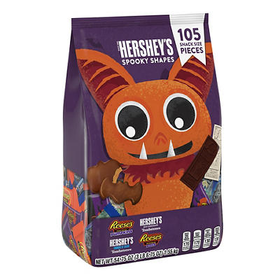 Hershey's Halloween Spooky Sweets Snack Size Assortment, 105 ct.
