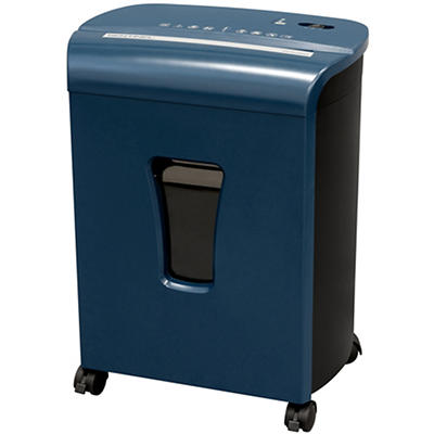 Sentinel 10-Sheet Micro-Cut Shredder - Blue
