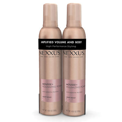 Nexxus Mousse Plus Volumizing Foam, 2 pk./10.6 oz.
