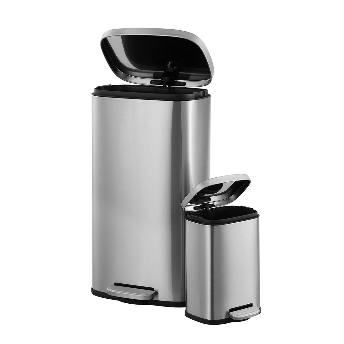 Neu Home Stainless Steel Trash Cans 30l