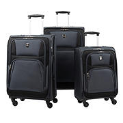 Atlantic 3-Pc. Expandable Spinner Set - Gray