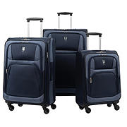 Atlantic 3-Pc. Expandable Spinner Set - Navy