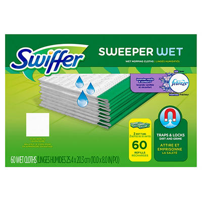 Swiffer Sweeper Wet Mopping Cloths Refills, 60 ct.