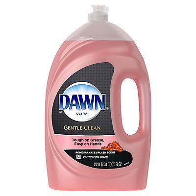 Dawn Ultra Gentle Clean Pomegranate Splash Dishwashing Liquid Dish Soa