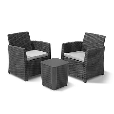 Keter Corona 3-Pc. Balcony Set - Graphite