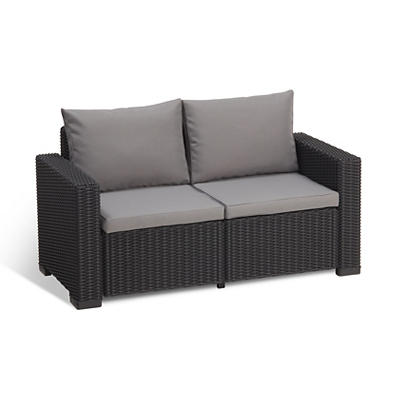 Keter California Loveseat - Graphite
