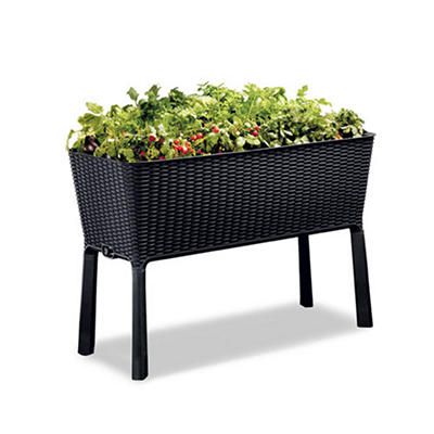 Keter Easy Grow Elevated Garden Bed - Anthracite