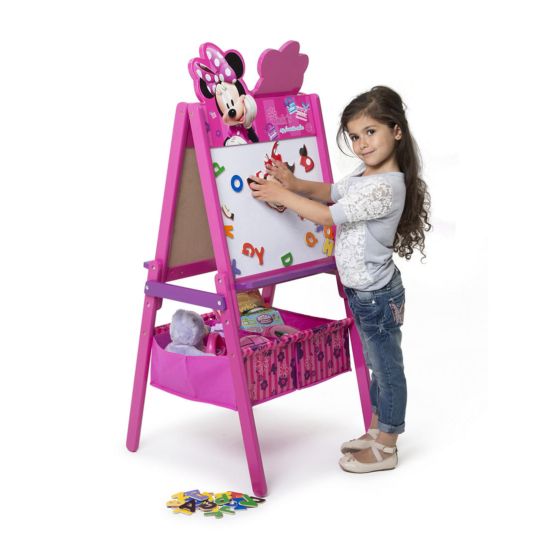 Fantastic Delta Children Disney Minnie Mouse Double Sided Activity Easel Pdpeps Interior Chair Design Pdpepsorg