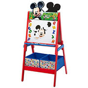 Delta Children Disney Mickey Mouse Double-Sided Activity Easel