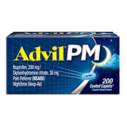 Advil PM Pain Reliever, 200 ct.