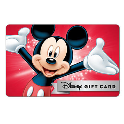 $50 Disney Gift Card, 3 pk.