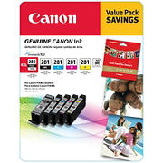 Canon PGI280 and CLI281 Combo Ink Cartridges