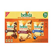 Belvita Bite Size Snack Packs, 36 ct.