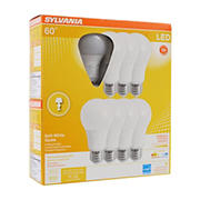 Sylvania 60W Equivalent LED A19 Light Bulbs, 8 pk. - Soft White