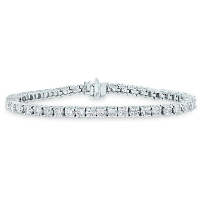 Amairah 5.00 ct. t.w. Diamond Tennis Bracelet in 14k White Gold