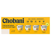 Chobani Fruit on the Bottom Low-Fat Greek Yogurt, 16 ct./5.3 oz.