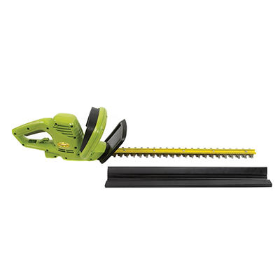 "Sun Joe 22"" 3.5-Amp Electric Hedge Trimmer - Green"
