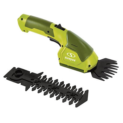 Sun Joe 7.2V Grass Shear/Hedge Trimmer Combination - Green