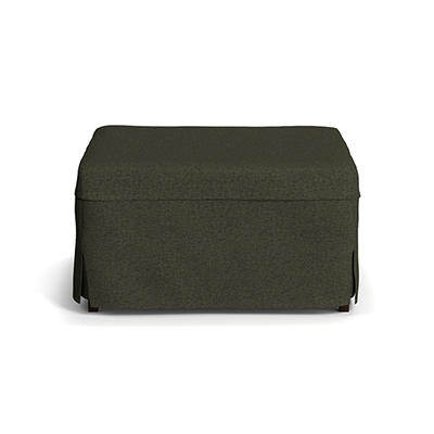 Handy Living Folding Metal Ottoman Bed - Basil Green