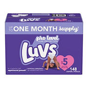 Luvs Triple Leakguards Diapers, Size 5, 148 ct.