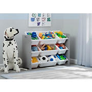 Delta Children MySize 9-Bin Toy Organizer - Gray
