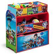 Delta Children PAW Patrol 6-Bin Toy Organizer