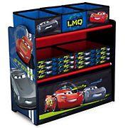Delta Children Disney/Pixar Cars 6-Bin Toy Organizer