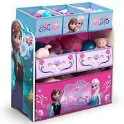 Delta Children Disney Frozen 6-Bin Toy Organizer