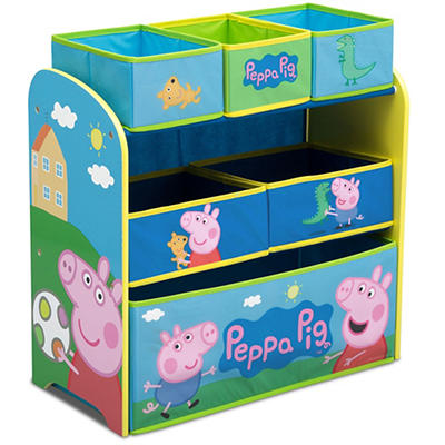 Delta Children Peppa Pig 6-Bin Toy Organizer