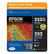 Epson T252XL Multi-Color Combo Ink Pack, 4 ct.