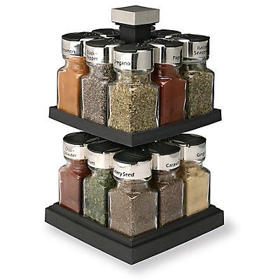 Olde Thompson 16-Jar Carousel Spice Rack