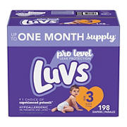 Luvs Triple Leakguards Diapers, Size 3, 198 ct.