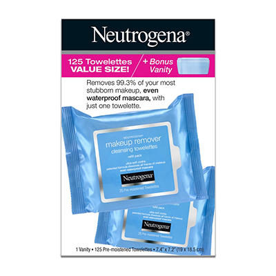 Neutrogena Makeup Remover Cleansing Towelettes, 5 pk./25 ct. Plus Bonu