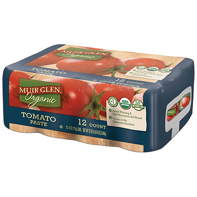 Muir Glen Tomato Paste, 12 pk.