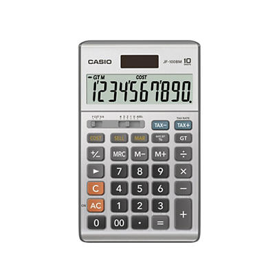 Casio JF-100BM 10-Digit Calculator