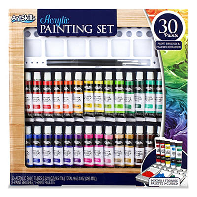 ArtSkills 30-Pc. Acrylic Painting Set