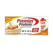 Premier Protein Caramel Shakes, 12 pk.
