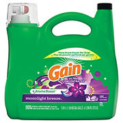 Gain Ultra Concentrated AromaBoost Moonlight Breeze Liquid Laundry Detergent, 200 fl. oz.