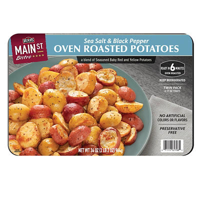 Reser's Main Street Bistro Sea Salt and Black Pepper Oven Roasted Potatoes, 2 pk./17 oz.
