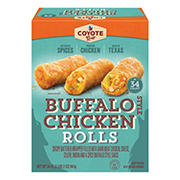 Coyote Grill Buffalo Chicken Rolls, 34 ct.