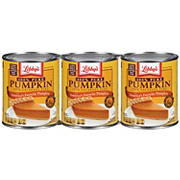 Libby's 100% Pure Pumpkin Pie, 3 pk./29 oz.