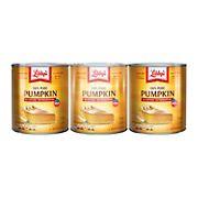 Libby's 100% Pure Pumpkin Pie, 3 pk./29 oz.