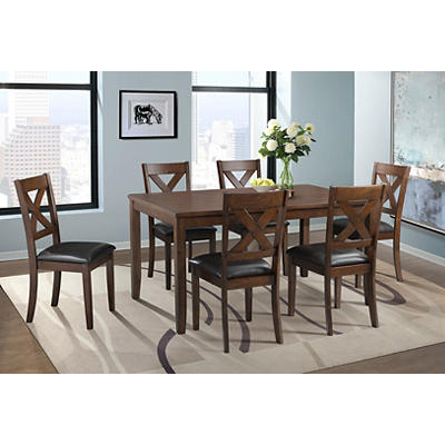 Elements Alex 7-Pc. Dining Set - Espresso