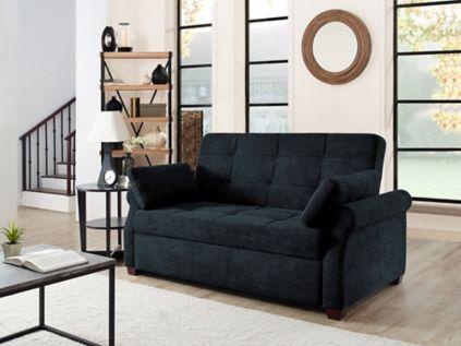 Relax-a-Lounger Hayden Convertible Sofa - Dark Gray - BJs WholeSale Club