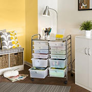 Honey-Can-Do 12-Drawer Rolling Cart - Assorted