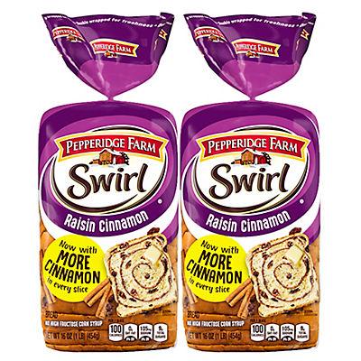 Pepperidge Farm Raisin Cinnamon Swirl Bread, 16 oz.
